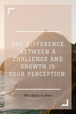 challenge and growth